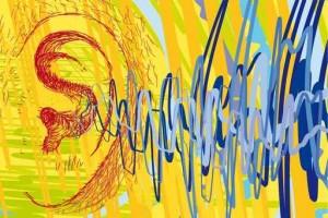 orecchio e onde sonore